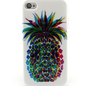Pineapple Pattern TPU Soft Case for iPhone 4/4S