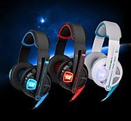 cada G6000 auriculares estéreo para auriculares de juegos con micrófono