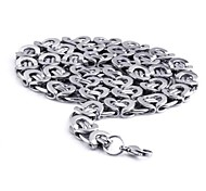 Men's Fashion Titanium Steel Clip Chain Necklace