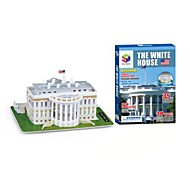 The White House 3D Puzzles DIY Toys for Children and Adult Toys(35PCS)