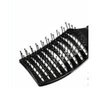 Hair Salon Plastic Curved Comb Change Color.