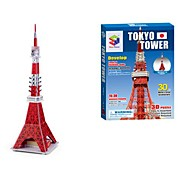 The Tokyo Tower 3D Puzzles DIY Toys for Children and Adult Jigsaw Puzzle(30PCS)