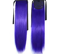Лучшие качества Горячий продавать Peny клипы Хвост Цвет волос Цветной Бар Оптовая Наращивание волос Фиолетовый Популярные 20 дюймов