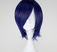 Tokyo Ghoul Kirishima Touka Short Straight Mixed Purple Anime Cosplay Wig