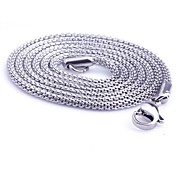 Z&X®  Men's Fashion  Personality Very Long Snake Titanium Steel Necklaces