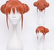 Gintama Kagura Orange Cosplay Wig