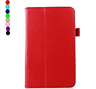 7 Inch Lichee Pattern Stand Case for LG Gpad V400  (Assorted Colors)