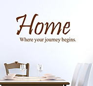 JiuBai™  Home Quote Word Art Wall Sticker Wall Decal