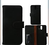 Luxury PU Leather Flip Case Cover with Card Slot And Stand for HTC One E8