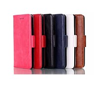 5.5 Inch Oily Leather Pattern Wallet Leather Case for iPhone 6  Plus(Assorted Colors)