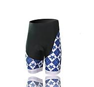 XINTOWN Unisex The High Quality Terylene Breathability Cycling Shorts—Black+Blue