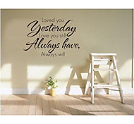JiuBai™ Love Quote Home decoration Wall Sticker Wall Decal