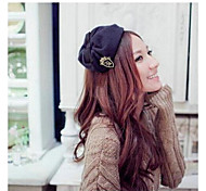 Fashion Embroider Badge with Bowknot Hat Headband