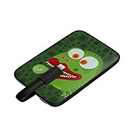 Airzooo® 3200mAh Frog Pattern Slim External Battery  for iPhone 4/4S, iPhone 5/5S and iPhone 6 and other Phone.