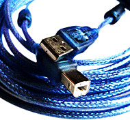 1.5M 4.9FT USB2.0 A Male to USB2.0 B Male Cable for MP3 MP4 Free Shipping