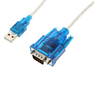 usb2.0 mâle RS232 mâle câble de 1m 3.28ft
