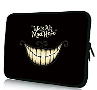 Elonno Smiling Face 10'' Tablet Neoprene Protective Sleeve Case for HP iPad 2/4/5 Samsung Galaxy Note 10.1/Tab 3