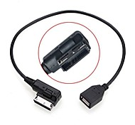 0.2m man naar vrouw media in ami MDI usb aux flash drive adapter kabel voor auto vw audi 2014 a4 a6 q5 q7