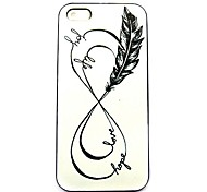 Infinity Feathers  Pattern Hard Case for iPhone 4/4S