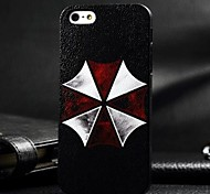 3D Umbrella Painting Relievo PC Hard Case for iPhone 5/5S