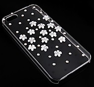margherita con diamante posteriore Case for iPhone 4 / 4s