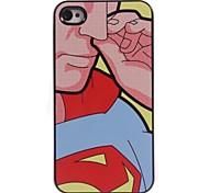 Superman Design Aluminum Hard Case for iPhone 4/4S
