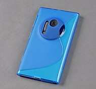 NEW Smart TPU S-Line Wave Skin Back  Cover for Nokia Lumia 1020