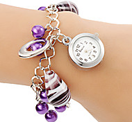 Women's Vase Pendant Alloy Band Quartz Bracelet Watch
