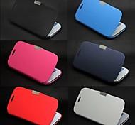 матовое дизайн магнитного пряжки дело всего тела для Samsung S4 9500 (разных цветов)