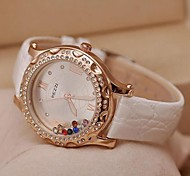 Women's Fashion Leisure Simple Quicksand Scattered Drill Quartz Watches(Assorted Colors) Cool Watches Unique Watches