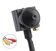 """Mini 1/4"""" CMOS Cone Pinhole Lens 90 Degrees ATM Camera (PAL, 600TVL)"""