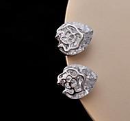 Z&X®  Fashion Star Rose High Grade Zircon Earrings