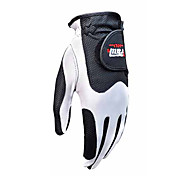 PGM Men's Left Hand Synthetic Leather+Lycra Silver Breathable Magic Golf Gloves-1 Piece
