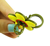 Cute Clover Shaped Soft Cable Winder Manager Wrap Device for Earphones Cable Cord