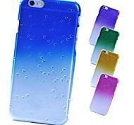 regentropfen auf blüte matt zurück Fall für iPhone 6 (Farbe sortiert)