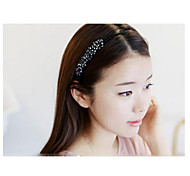 Lovely Korean Style Handmade Pearl Headbands Hair Accessories Random Color