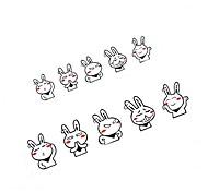 29*6 CM Whimsy Cartoon Rabbit  Car Sticker