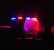 Bike Light , Front Bike Light / Rear Bike Light / Bike Lights - 3 Mode Lumens Alarm / Backlight CR2032 / Button Battery Battery