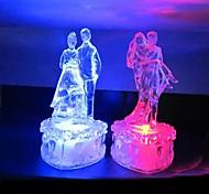 Dance Lovers Design Plastic Night Light(Random Color x1pcs)