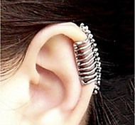 Punk Skull Spine  Without Hole Ear Cuffs (1 Pcs)