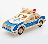 Car Shape Wooden Building Blocks Toys(Random Shape)