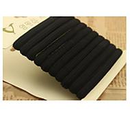 belles cravates de cheveux élastiques 12pcs par boîte de couleur aléatoire