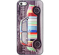 Reizende bunte Car Design Aluminium Hard Case für iPhone 5/5S