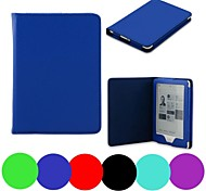 Shy Bear™ Litchi Style Slim Smart PU Leather Cover Case for Kobo Glo 6 Inch Ebook