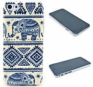 elefante popolare tribale copertura duro del modello tappeto per iPhone 6