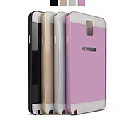 Angibabe Metal Aluminum Frame with Plastic Back Cover for Samsung Note3 / N9000   (Assorted Color)