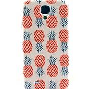 ananas motif Couverture dure de cas pour les i9500 Samsung Galaxy S