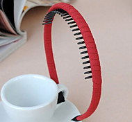 Korean Fine Toothed Practical Cloth Hair Bands Random Delivery