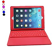PU Leather Case with Bluetooth 3.0 Keyboard for iPad Air (Assorted Colors)