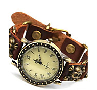 Men's Retro Simplicity Leather Bracelet Watch Cool Watch Unique Watch